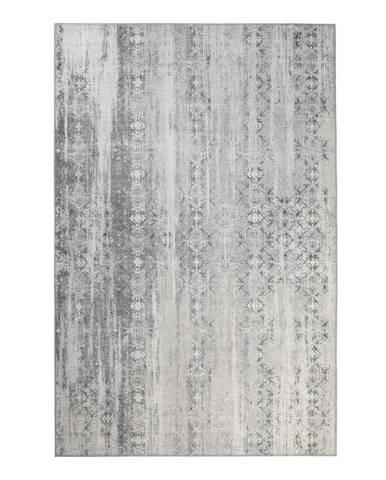Esprit TKANÝ KOBEREC, 120/170 cm, šedá, bílá - šedá, bílá
