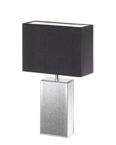 STOLNÍ LAMPA, E14, 30/13/51 cm - černá