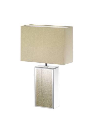 STOLNÍ LAMPA, E14, 30/13/51 cm - hnědá