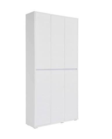 Xora BOTNÍK, bílá, 100/210/34 cm - bílá