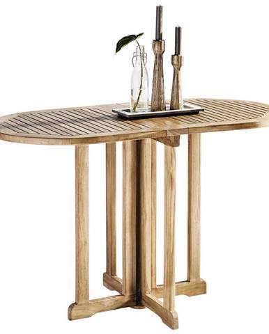 Xora ZAHRADNÍ SKLÁPĚCÍ STOLEK, dřevo, 120/75/60 cm - přírodní barvy