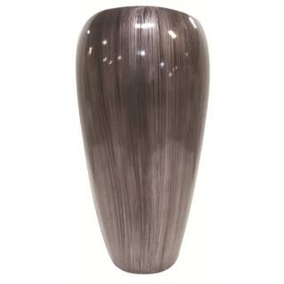 Ambia Home KVĚTINÁČ, plast, 35,5/66 cm - barvy stříbra
