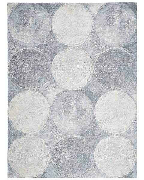 Novel Novel VINTAGE KOBEREC, 160/230 cm, modrá, bílá - modrá, bílá