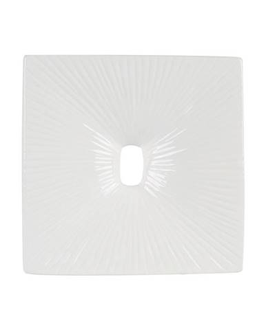 Ambia Home VÁZA, keramika, 26 cm - bílá