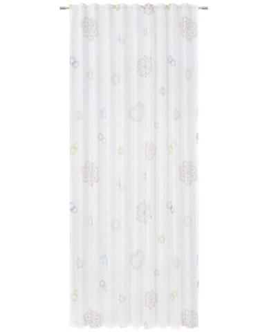 Ben'n'jen DĚTSKÝ ZÁVĚS, průhledné, 140/245 cm - vícebarevná