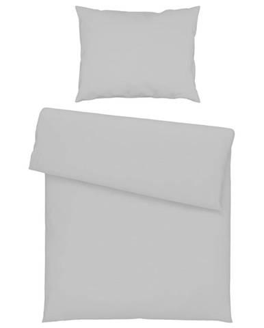 Bio:Vio POVLEČENÍ, renforcé, šedá, 140/200 cm - šedá