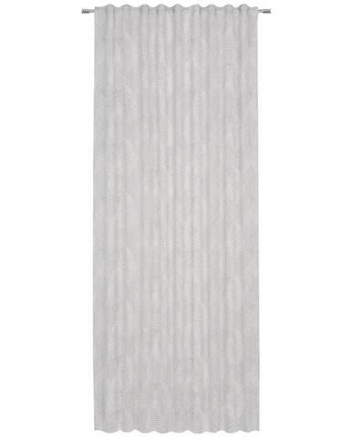 Esposa HOTOVÝ ZÁVĚS, poloprůhledné, 140/245 cm - světle šedá