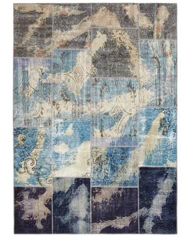 Esposa KOBEREC ORIENTÁLNÍ, 80/150 cm, modrá - modrá
