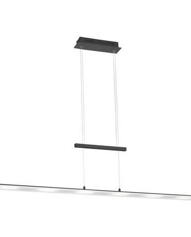 ZÁVĚSNÉ LED SVÍTIDLO, 130/12/150 cm - antracitová