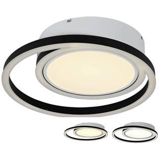 Ambiente STROPNÍ LED SVÍTIDLO, 50.5/10,5 cm - černá, bílá