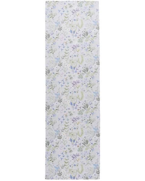 Esposa Esposa BĚHOUN NA STŮL, 40/140 cm, modrá, šedá, zelená, šeříková - modrá, šedá, zelená, šeříková