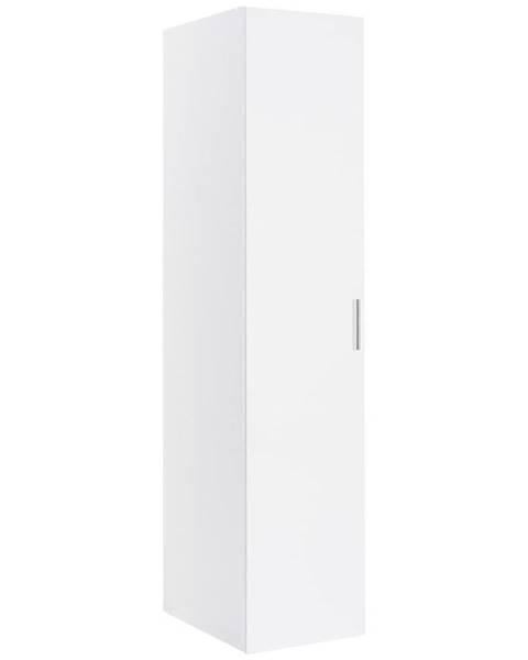 Xora Xora ŠATNÍ SKŘÍŇ, bílá, 30/185/54 cm - bílá