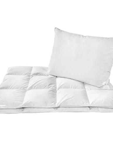 Billerbeck LOŽNÍ SADA, peří, prachové peří,70x90/140x200 cm - bílá