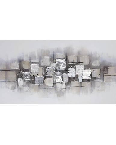 Monee OLEJOMALBA, abstraktní, 70/150 cm - vícebarevná
