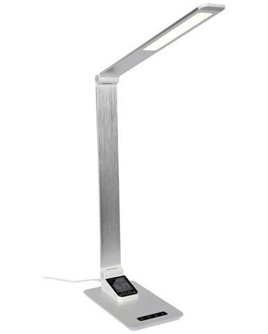 Novel LED LAMPA NA PSACÍ STŮL, dotykový stmívač, 80 cm - barvy stříbra