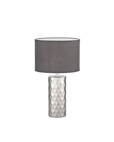 STOLNÍ LAMPA, E27, 25/43 cm - tmavě šedá