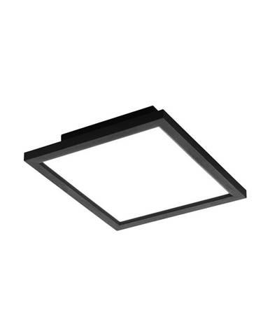 STROPNÍ LED SVÍTIDLO, 30/30/5 cm - černá, bílá