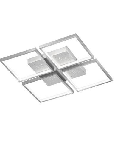 STROPNÍ LED SVÍTIDLO, 54/54/6,5 cm - barvy hliníku, barvy chromu