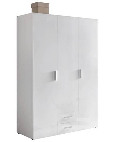Xora ŠATNÍ SKŘÍŇ, bílá, 120/185/54 cm - bílá