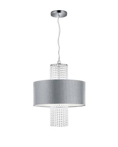 ZÁVĚSNÉ SVÍTIDLO, E14/28 W, 45/150 cm - čiré, barvy stříbra
