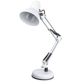 Xora LAMPA NA PSACÍ STŮL, E27, 40/15/59 cm - bílá