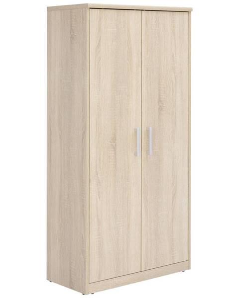 Xora Xora KOMODA, Sonoma dub, 72/148/36 cm - Sonoma dub