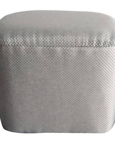 Ambia Home TABURET, dřevo, textil, 40/37/34 cm - šedá