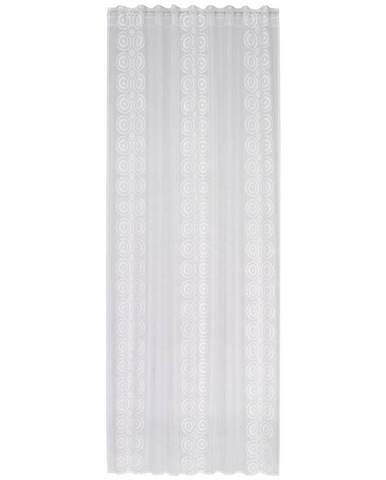 Esposa HOTOVÝ ZÁVĚS, průhledné, 140/245 cm - bílá