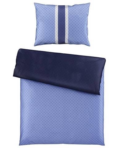 Joop! POVLEČENÍ, makosatén, modrá, tmavě modrá, 140/200 cm - modrá, tmavě modrá