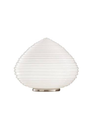 LAMPA STOLNÍ, E27, 37/37/27 cm - čiré