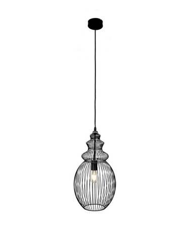Marama ZÁVĚSNÉ SVÍTIDLO, E27/60 W, 28/150 cm - černá