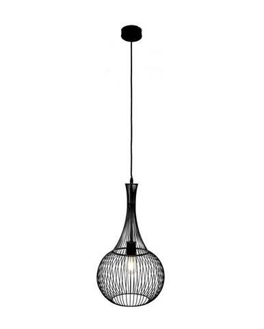 Marama ZÁVĚSNÉ SVÍTIDLO, E27/60 W, 30/150 cm - černá
