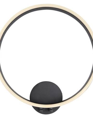 NÁSTĚNNÉ LED SVÍTIDLO, 43/40/8,5 cm - černá, bílá