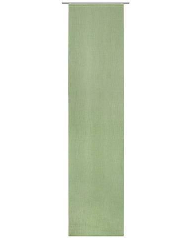 Novel ZÁVĚS PLOŠNÝ, 60/255 cm - zelená