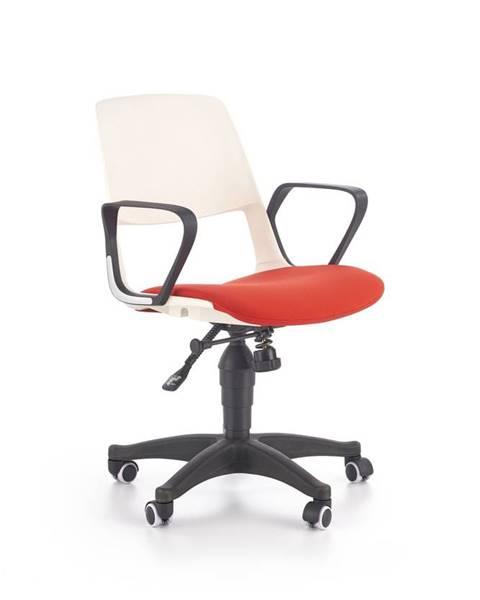 Halmar Halmar Dětská židle Jumbo, bílá/červená