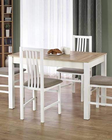 Halmar Jídelní stůl Ksawery, dub sonoma/bílý