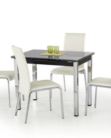 Halmar Jídelní stůl LOGAN, černý