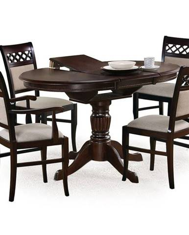 Halmar Jídelní stůl William, černý ořech