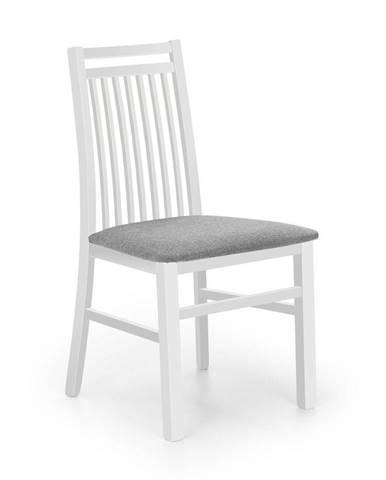 Halmar Jídelní židle Hubert 9, bílá