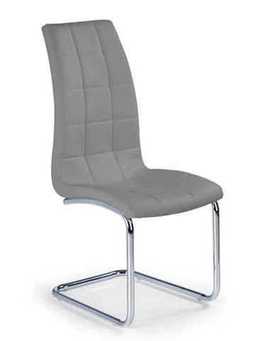 Halmar Jídelní židle K147, šedá