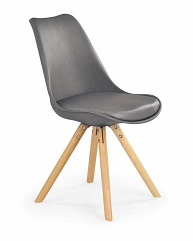 Halmar Jídelní židle K201, šedá