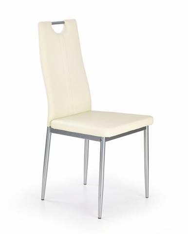 Halmar Jídelní židle K202, krémová