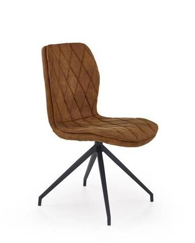 Halmar Jídelní židle K237, hnědá