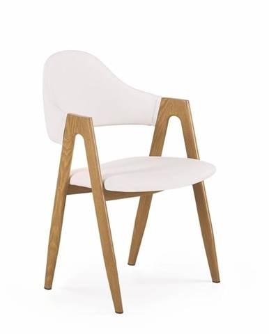 Halmar Jídelní židle K247, bílá