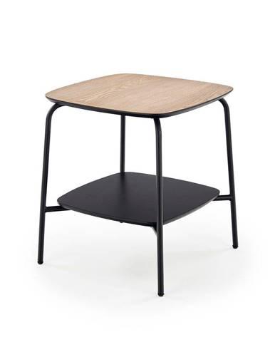 Halmar Konferenční stolek Genua 1, jasan/černý