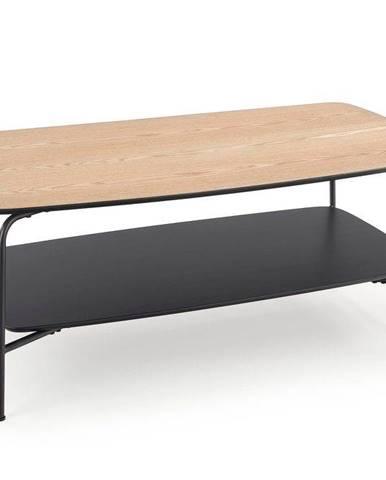 Halmar Konferenční stolek Genua 2, jasan/černý
