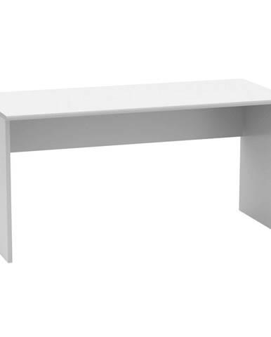 Tempo Kondela Psací stůl Johan 2 New 1, bílý, 150 cm