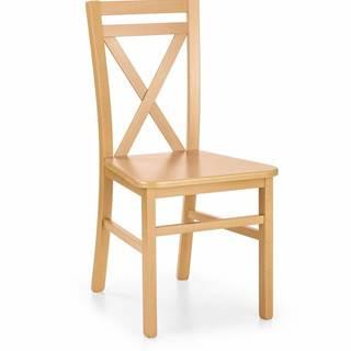 Halmar Jídelní židle Dariusz 2, medový dub