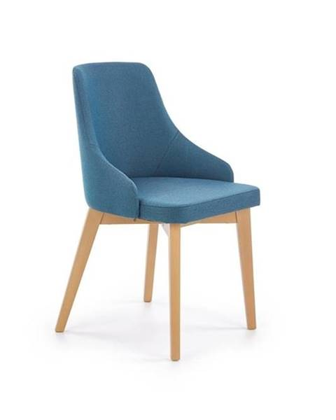 Halmar Halmar Jídelní židle Toledo, medový dub/modrá