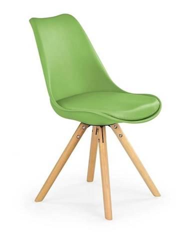 Halmar Jídelní židle K201, zelená